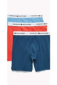 9e3ebe9eb2 Men's Boxer Briefs | Knit & Cotton Boxer Briefs | Tommy Hilfiger