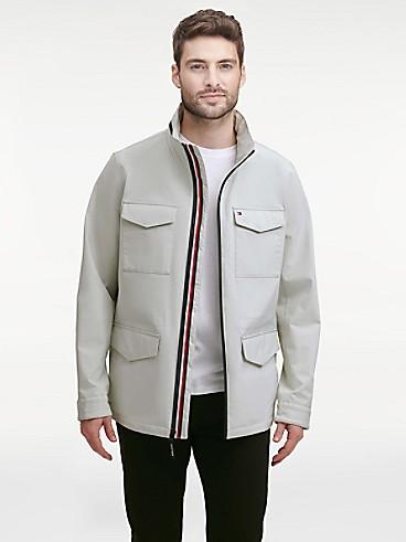 타미 힐피거 에센셜 필드 자켓 - 오이스터 Tommy Hilfiger Essential Field Jacket