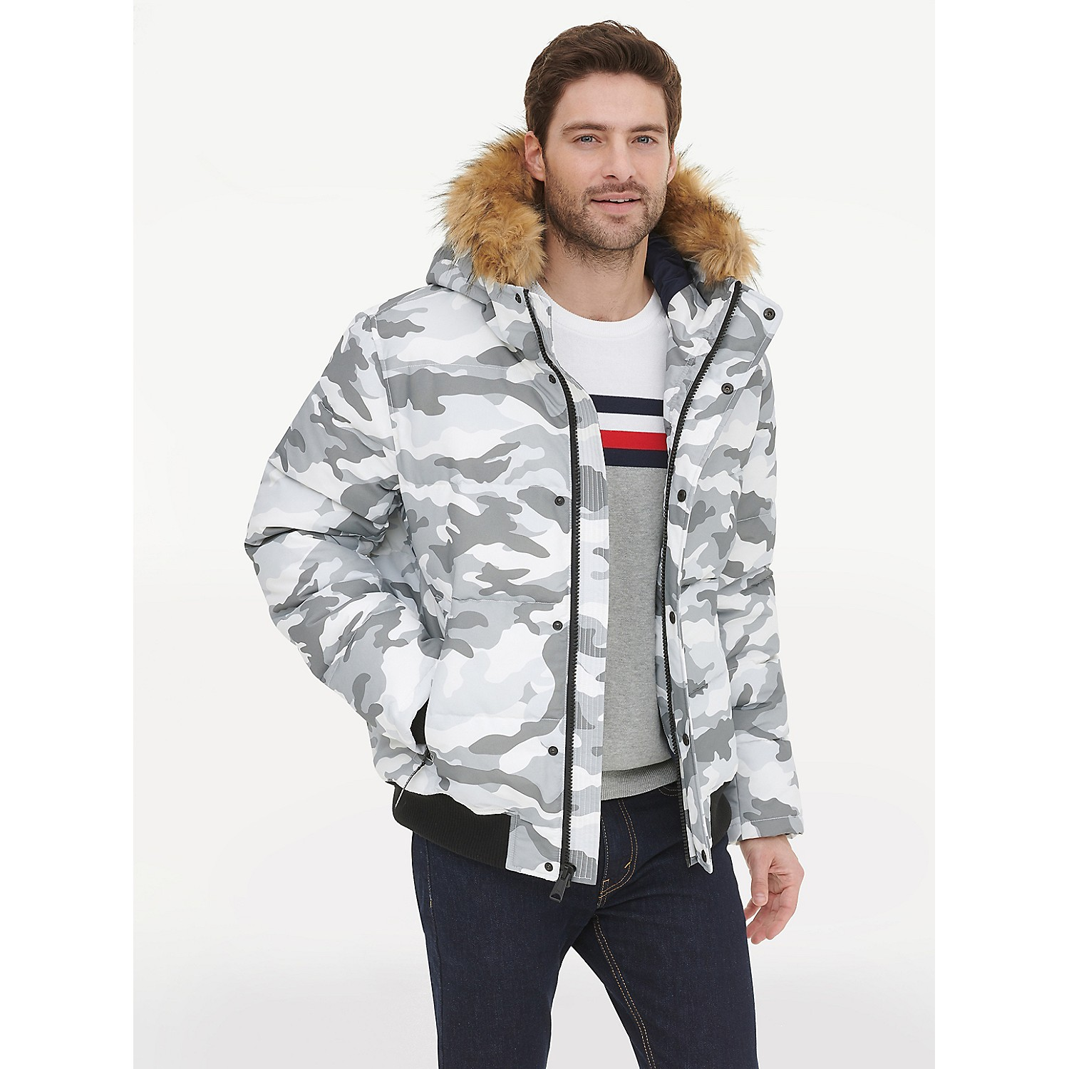 TOMMY HILFIGER Tommy Essentials Hooded Bomber Jacket