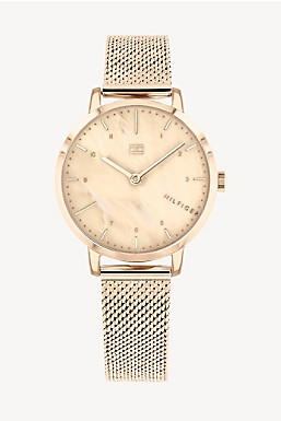 d06053774 Dress Watch With Carnation Gold-Tone Bracelet
