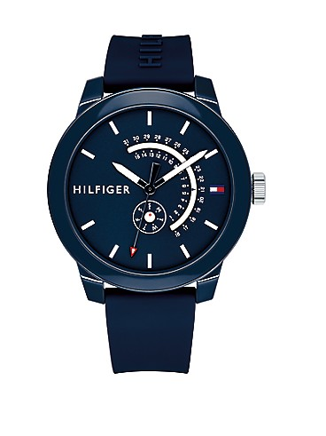 타미 힐피거 스포츠 시계 Tommy Hilfiger Blue Sport Watch,NAVY