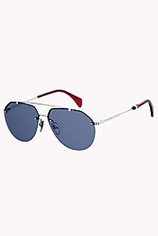 4d10b16f68d Slim Aviator Sunglasses