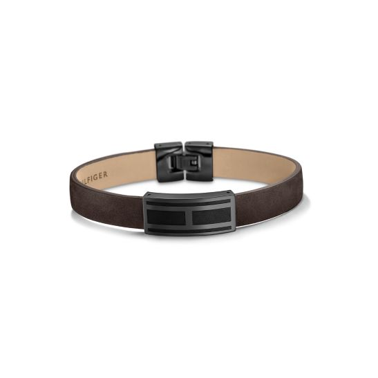 Statement Buckle Leather Belt - Sales Up to -50% Tommy Hilfiger