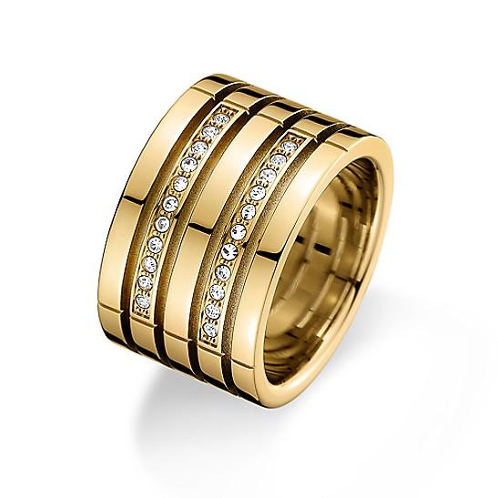 42c0bc401 Gold Crystal Ring   Tommy Hilfiger