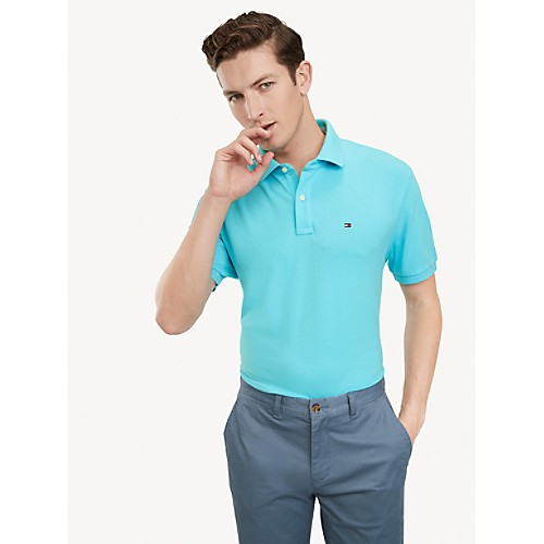 Classic Fit Essential Solid Polo   Tommy Hilfiger