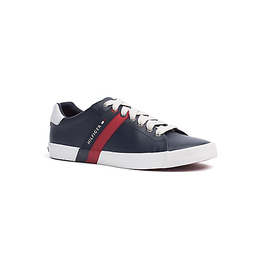 Modern Logo Stripe Trainers - Sales Up to -50% Tommy Hilfiger cUMobMErQ