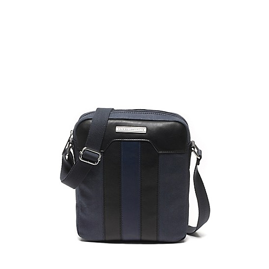 Contrast Strap Leather Pouch - Sales Up to -50% Tommy Hilfiger WPtwLGtUT