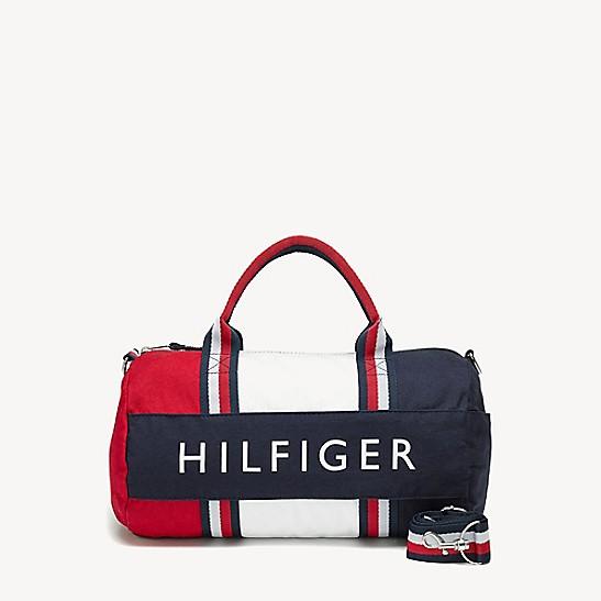 Th Kids Colorblock Duffle Bag