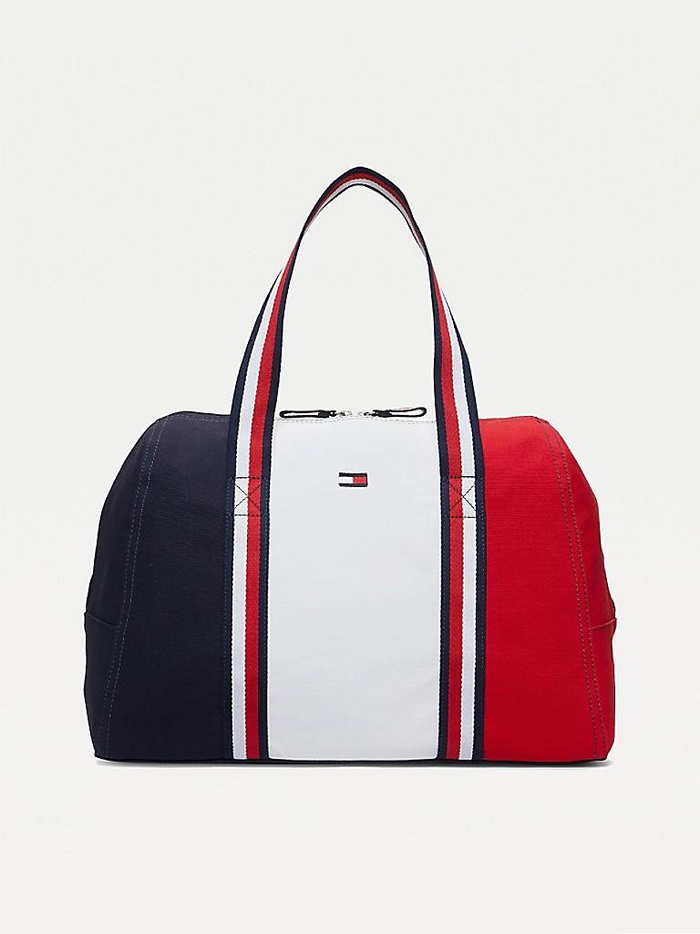 Colorblock Duffle Bag