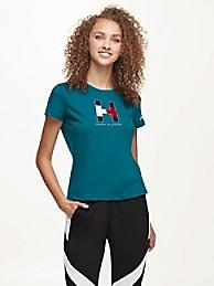 타미 힐피거 Tommy Hilfiger Jacksonville Jaguars Flocked T-Shirt,BLACK/JACKSONVILLE JAGUARS