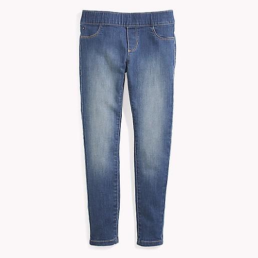 : Tommy Hilfiger Girls' Adaptive Jegging Jeans
