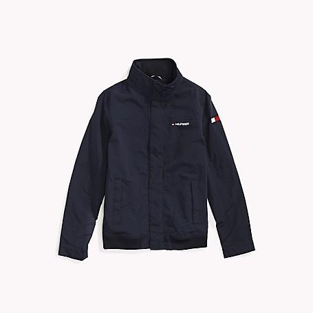 Tommy Hilfiger Womens Windbreaker Jacket Transition Jacket with Hood Navy | eBay