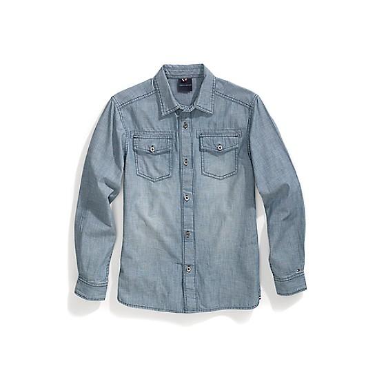 c4777c8da3a HomeTommy AdaptiveMagnetic ButtonsChambray Woven Shirt. PreviousNext. SALE  Chambray Woven Shirt