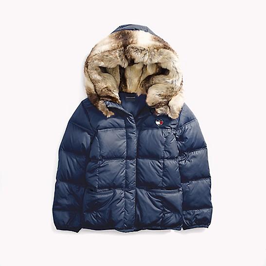 400ca1e8 HomeTommy AdaptiveMagnetic ButtonsFur Puffer Jacket. SALE Fur Puffer Jacket
