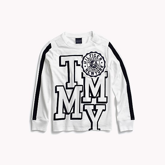 d18e4357 Long-Sleeve Tommy Tee | Tommy Hilfiger