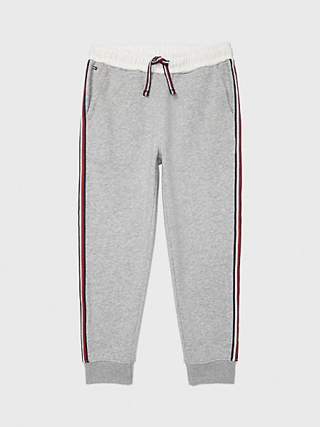 타미 힐피거 보이즈 조거팬츠 Tommy Hilfiger TH Kids Knit Jogger,academy grey heather