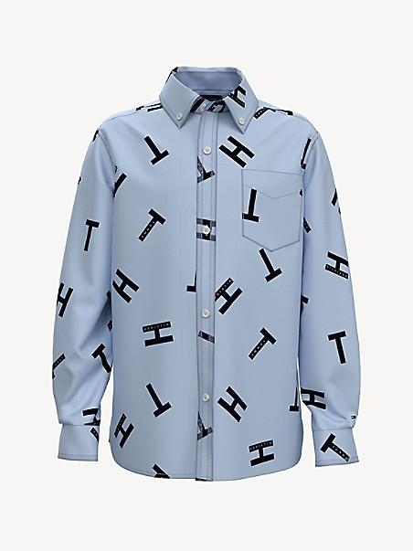 TOMMY HILFIGER TH Kids Letter Print Shirt