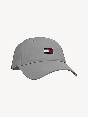 타미 힐피거 키즈 볼캡 모자 Tommy Hilfiger TH Kids Flag Cap,GREY WASHED