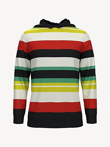TOMMY HILFIGER TH Kids Stripe Sweater Hoodie