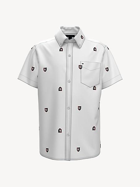 TOMMY HILFIGER TH Kids Crest Print Shirt