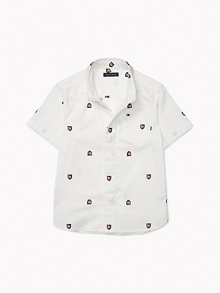TOMMY ADAPTIVE Allover Crest Shirt