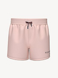 타미 힐피거 걸즈 반바지 Tommy Hilfiger TH Kids Solid Knit Short,pink passion