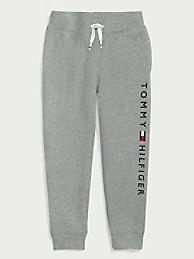 타미 힐피거 보이즈 조거팬츠 Tommy Hilfiger TH Kids Solid Logo Jogger,grey heather