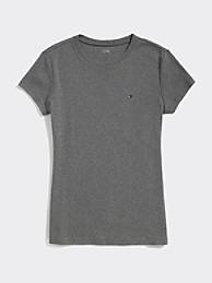 타미 힐피거 Tommy Hilfiger Essential Favorite Crewneck T-Shirt,GREY HEATHER