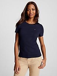 타미 힐피거 Tommy Hilfiger Essential Favorite Crewneck T-Shirt,SKY CAPTAIN