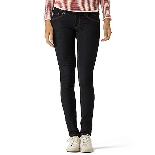 bajo Jeans Jeans tiro ajustados ajustados de de TY5wqRnEx