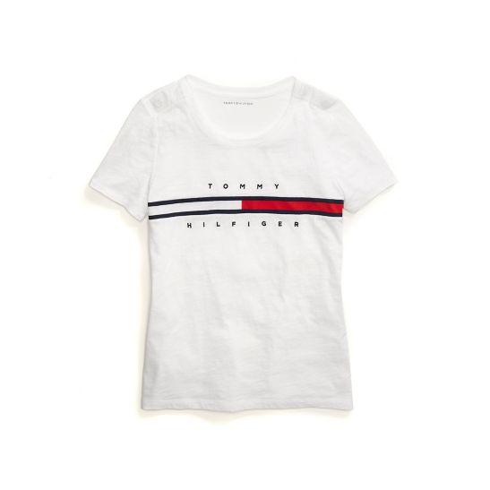 Regular Fit Logo T-Shirt - Sales Up to -50% Tommy Hilfiger