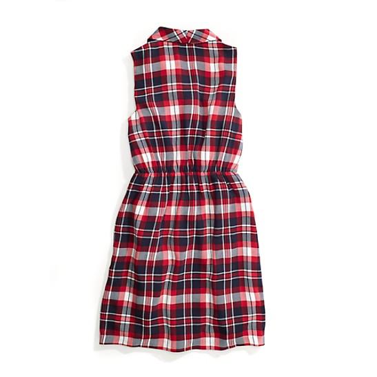 8f4d2e1ece2f Sleeveless Plaid Dress | Tommy Hilfiger