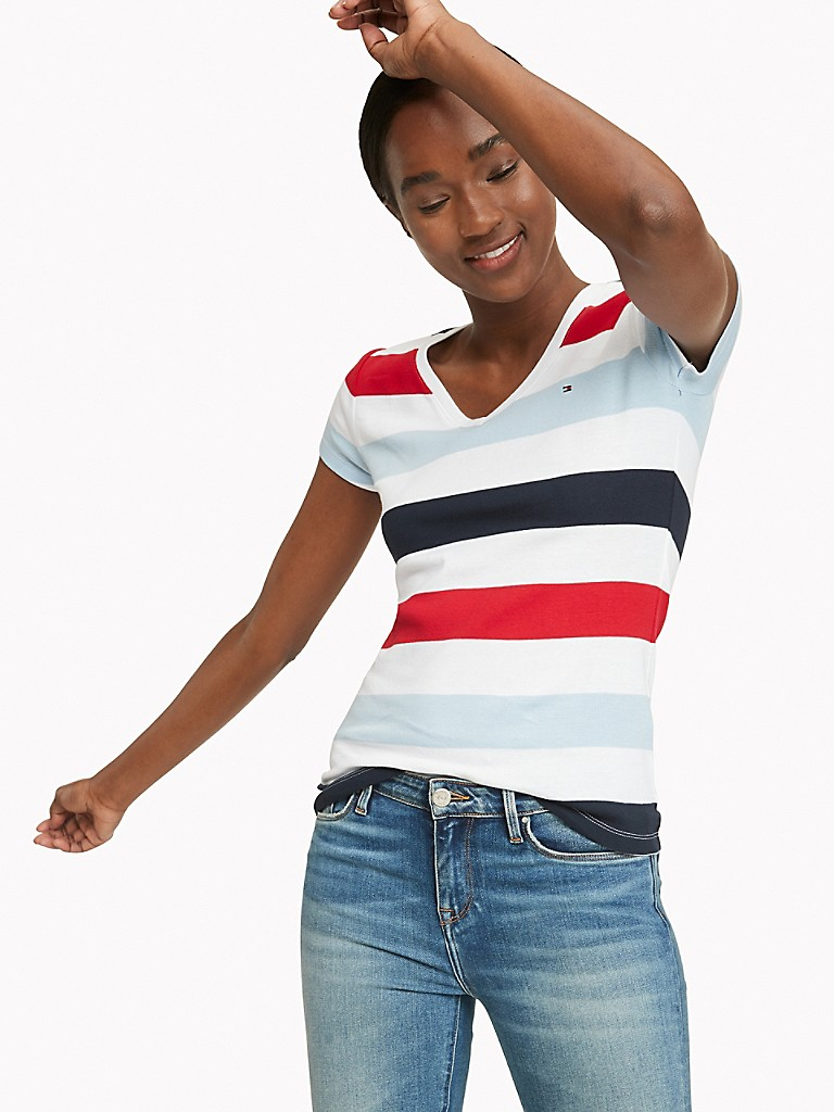 NEW TO SALE Essential Favorite Multi Stripe T-Shirt