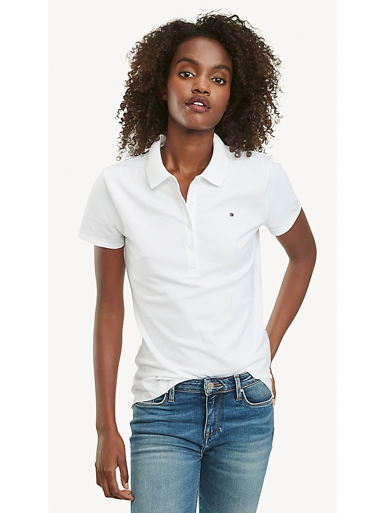 Regular Fit Essential Stretch Cotton Polo