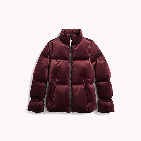 37a8367b Velvet Puffer Jacket | Tommy Hilfiger
