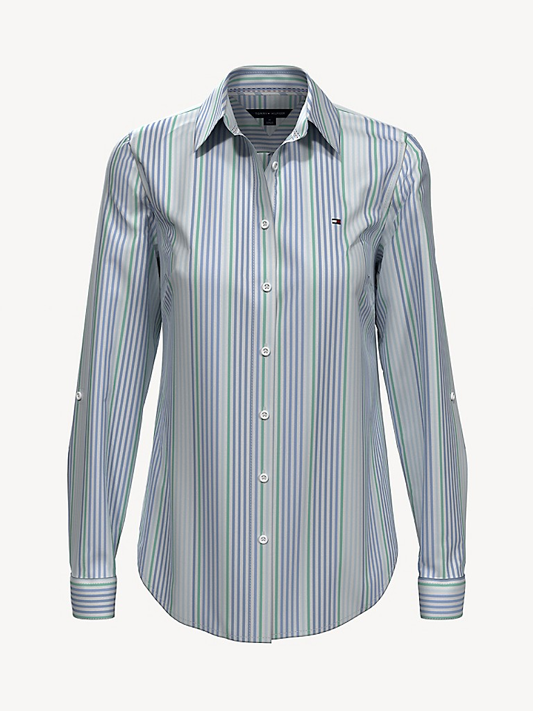 NEW TO SALE Essential Seersucker Stripe Shirt