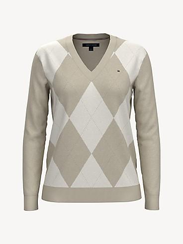 타미 힐피거 Tommy Hilfiger Essential V-Neck Sweater