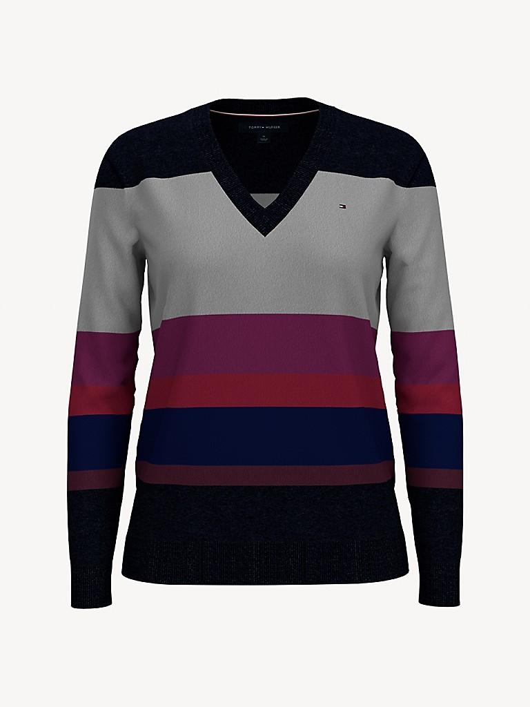 Essential Block Stripe Sweater