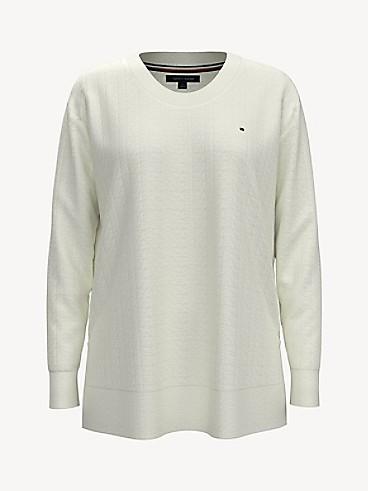 타미 힐피거 Tommy Hilfiger Essential Tunic Sweater