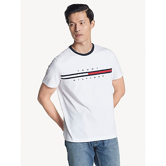2a588ff3e Flag Logo T-Shirt | Tommy Hilfiger