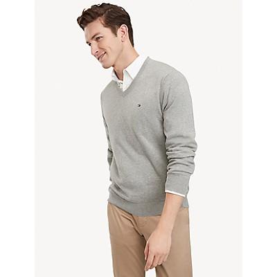 Essential V-Neck Sweater   Tommy Hilfiger