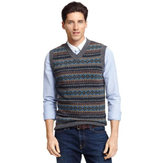 FAIR ISLE SWEATER VEST | Tommy Hilfiger
