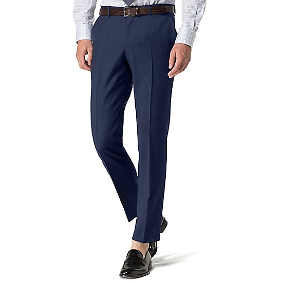 Virgin Wool Fitted Trousers - Sales Up to -50% Tommy Hilfiger Jdsia