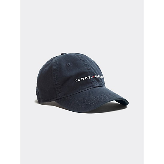 logo embroidered cap - Blue Tommy Hilfiger WWRVMZg