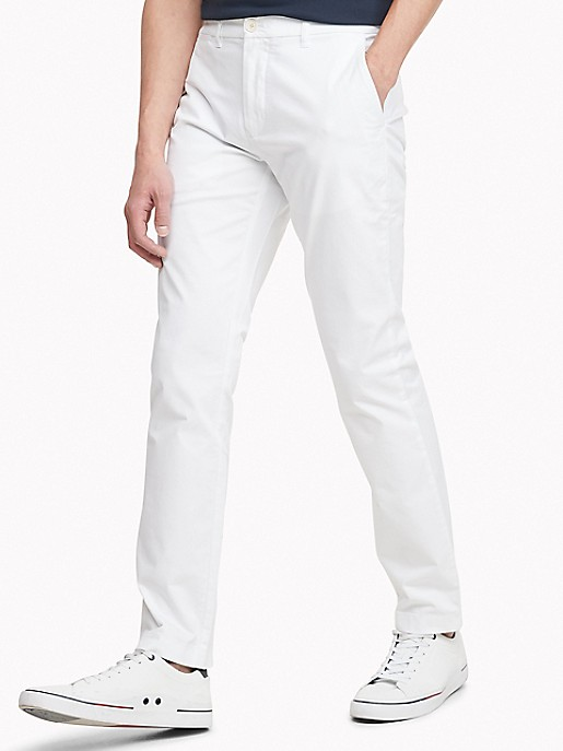 get cheap latest another chance Slim Fit Essential Stretch Cotton Chino | Tommy Hilfiger