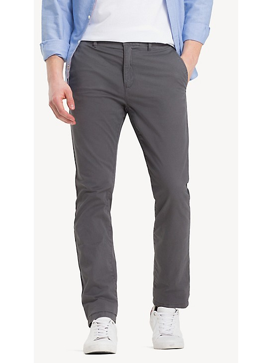 Stretch Cotton Twill Straight Fit Chino | Tommy Hilfiger