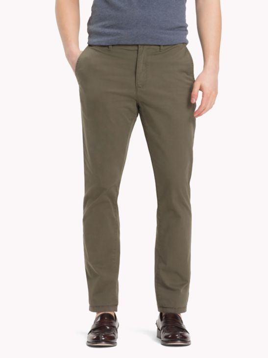 Organic Stretch Twill Chinos - Sales Up to -50% Tommy Hilfiger