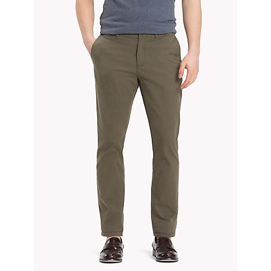 Organic Stretch Twill Chinos - Sales Up to -50% Tommy Hilfiger H1wBiBMHUO