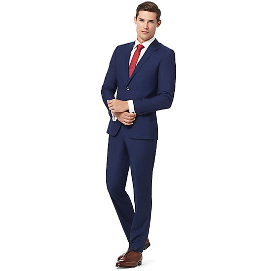 Virgin Wool Slim Fit Suit Trousers - Sales Up to -50% Tommy Hilfiger IHyLr