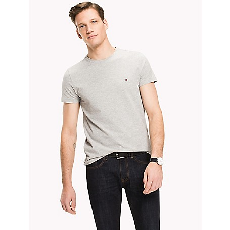 Tommy Hilfiger Organic Slim Fit T Shirt, Green